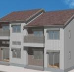 ミサワホーム施工のアパート!10月下旬完成の新築!
